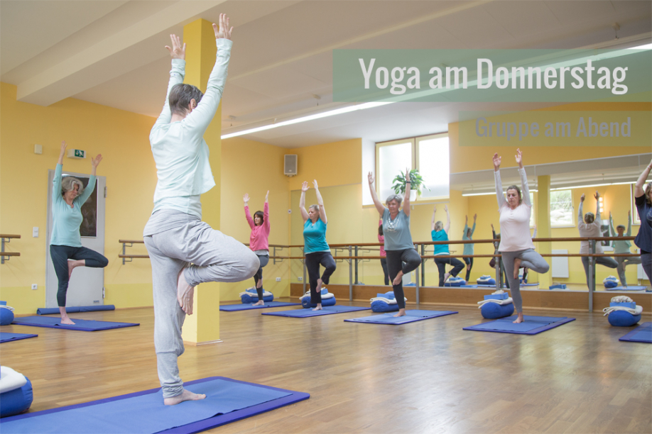 Yogakurs am Donnerstag